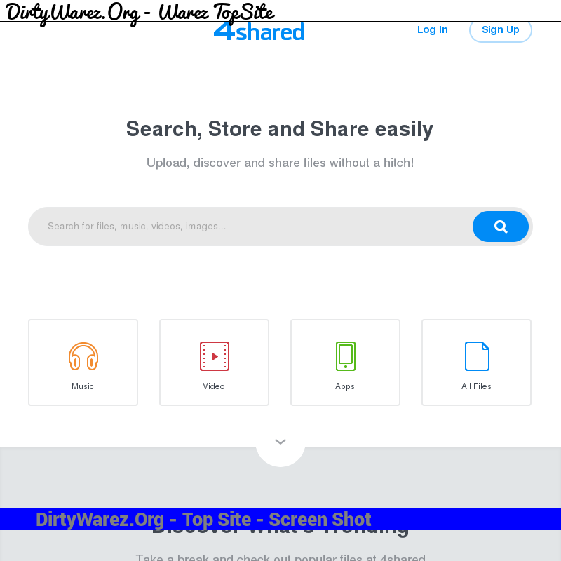 4shared.com Screenshot