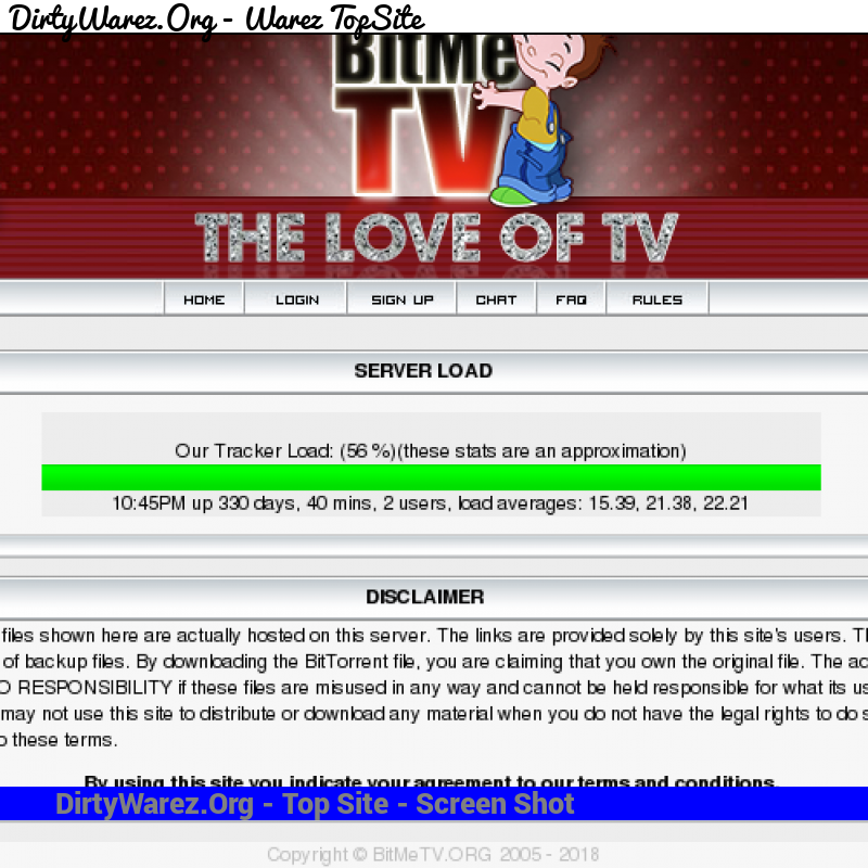 bitmetv.org Screenshot