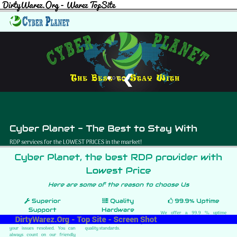 cyber-planet.in Screenshot